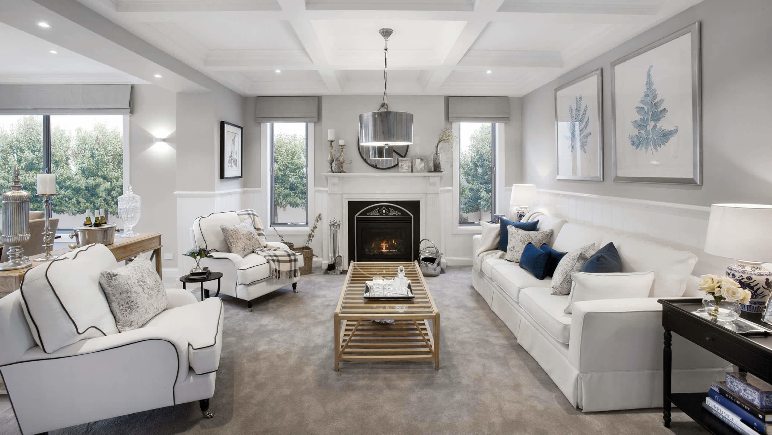 Creating cosy winter spaces