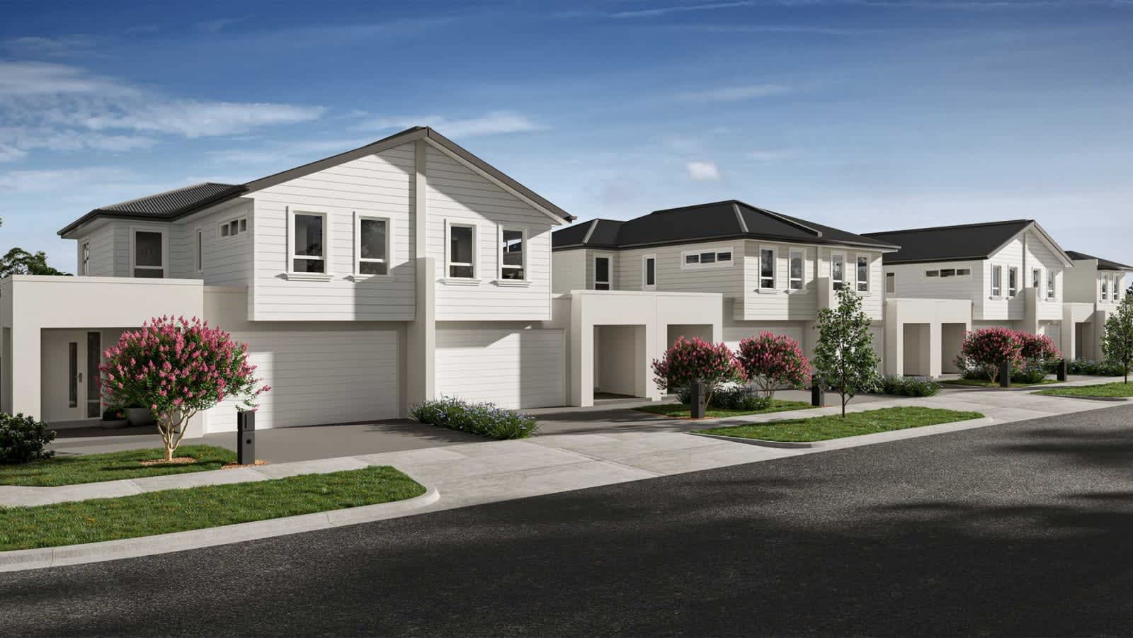 Hamptons Townhomes at Cloverton