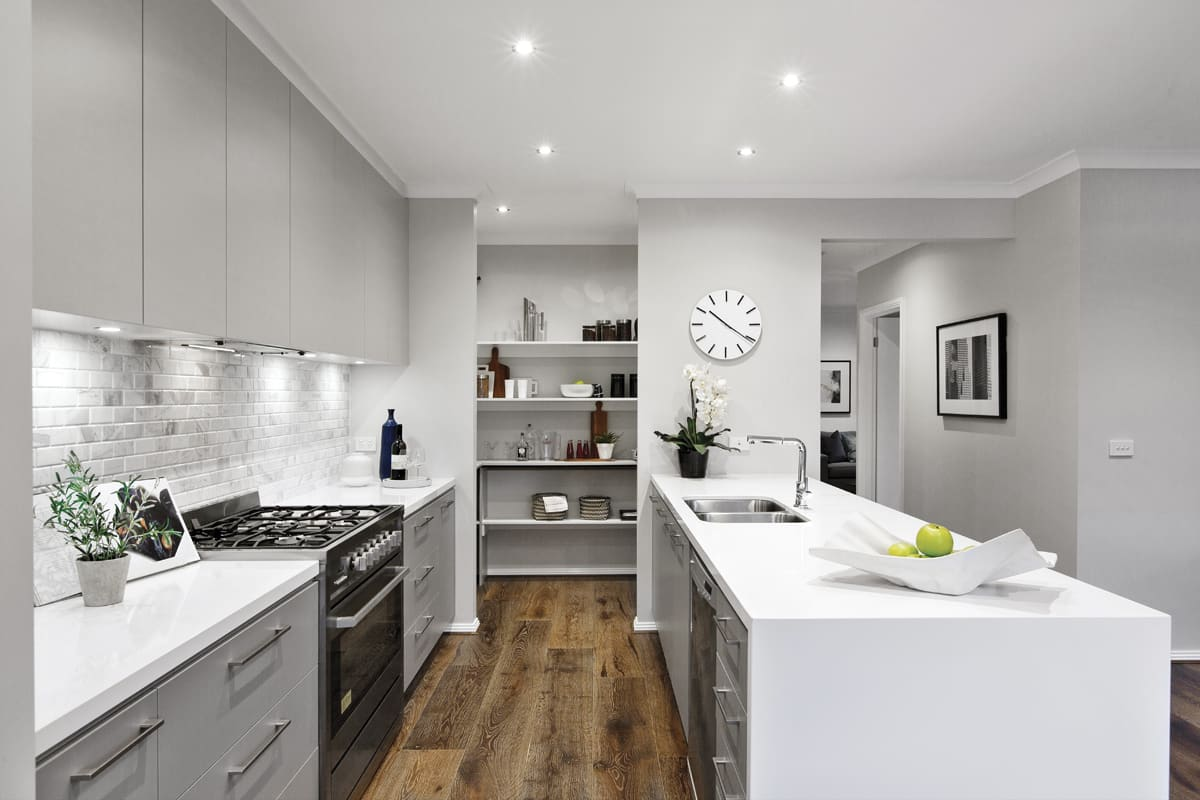 How To Work With A Galley Kitchen Design Porter Davis