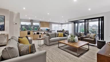 How to furnish an open plan living space