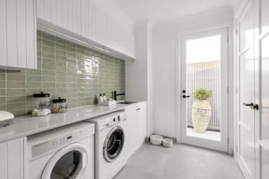 An interior designer's top tips for styling a fabulous yet functional laundry