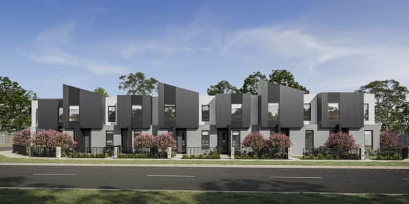 Contemporary Townhomes at Botanical