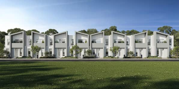 Contemporary Townhomes at Mt Atkinson