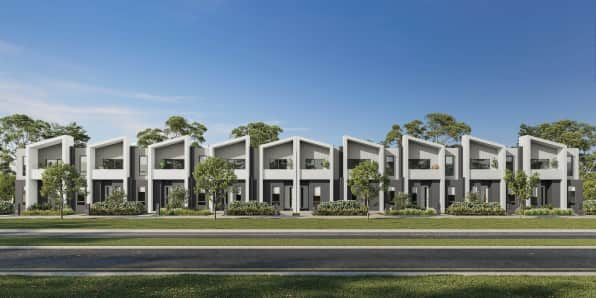 Contemporary Townhomes at Bella