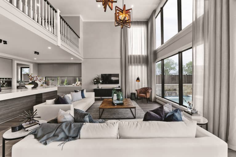 Five of our most luxe living spaces