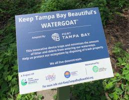 Keep Tampa Bay Beautiful sign