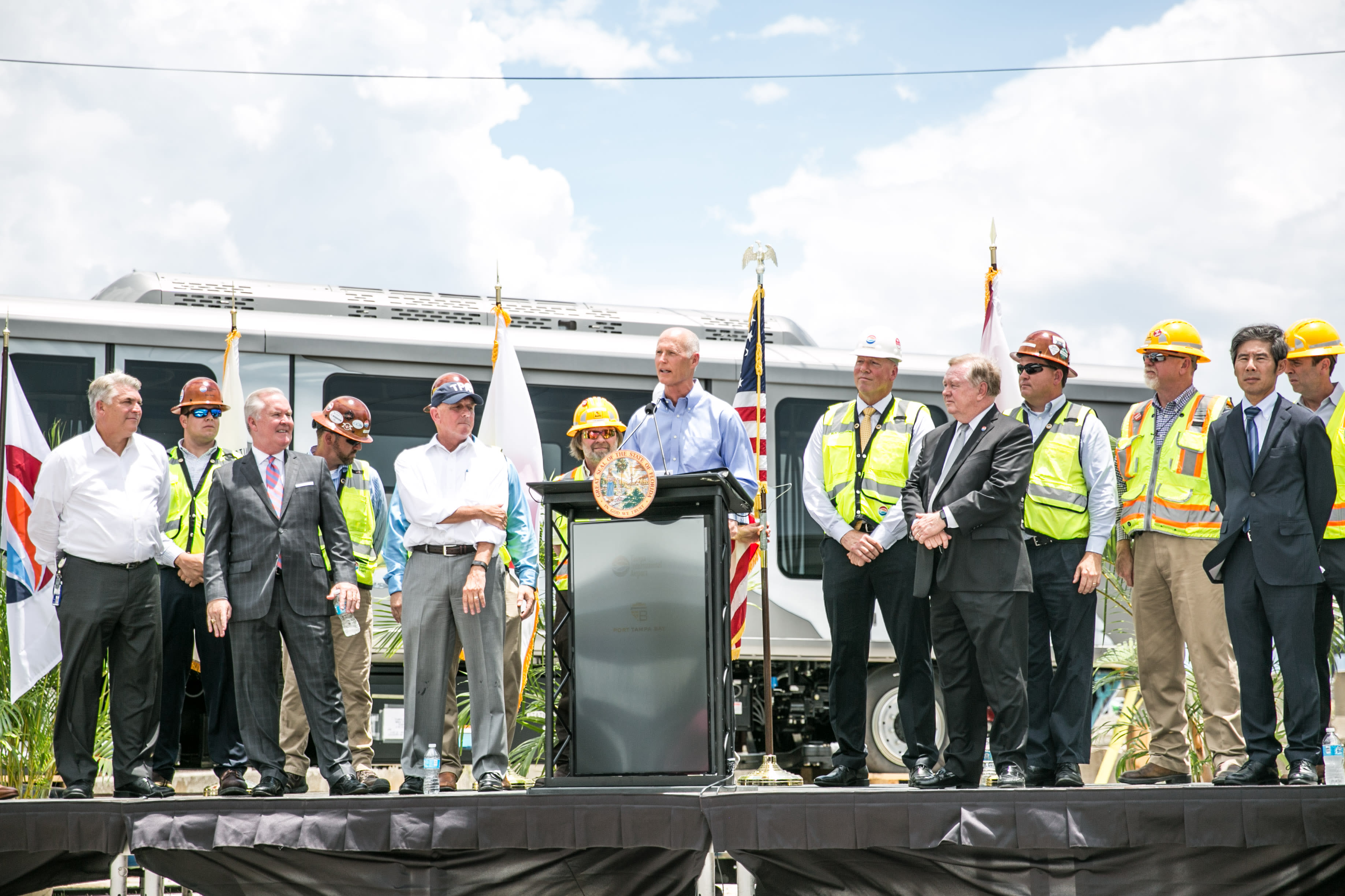 Executive Auto Shippers >> Port Tampa Bay celebrates arrival of diverse cargo from ...