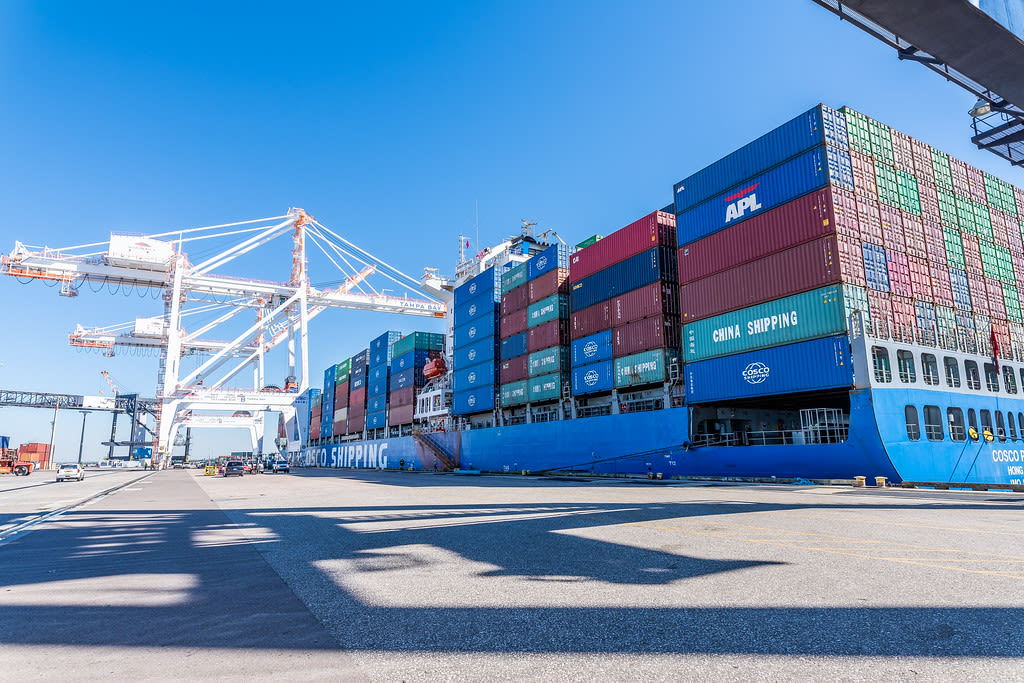 Port Tampa Bay Welcomes First COSCO Shipping Container