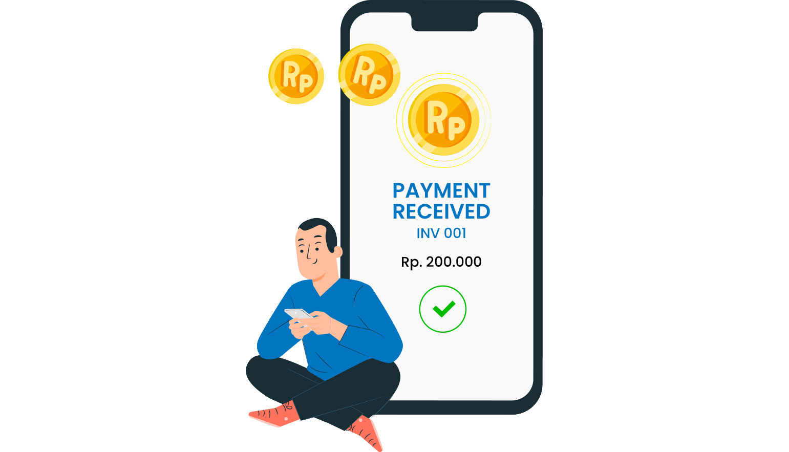 Automated POS Invoice Payment Status
