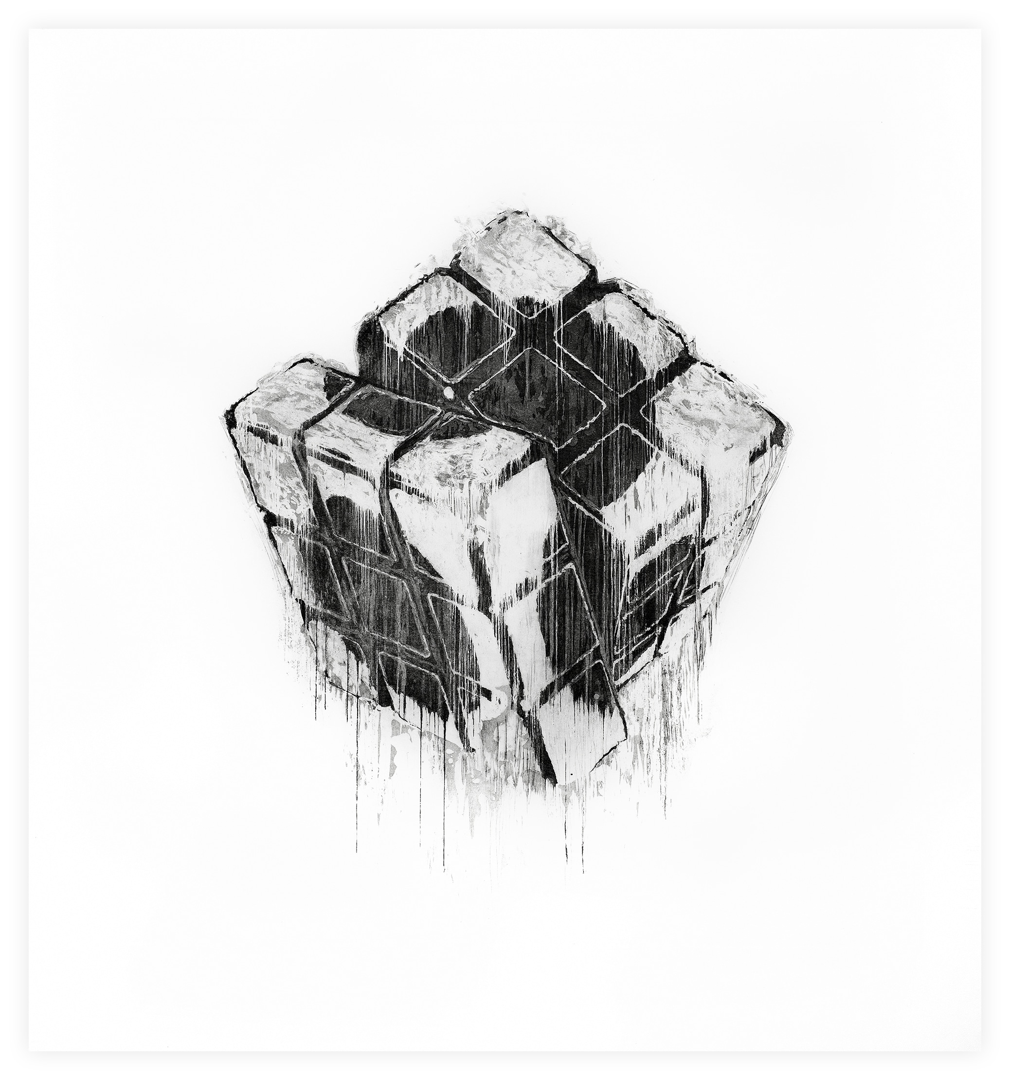 Cube print by DOTDOTDOT