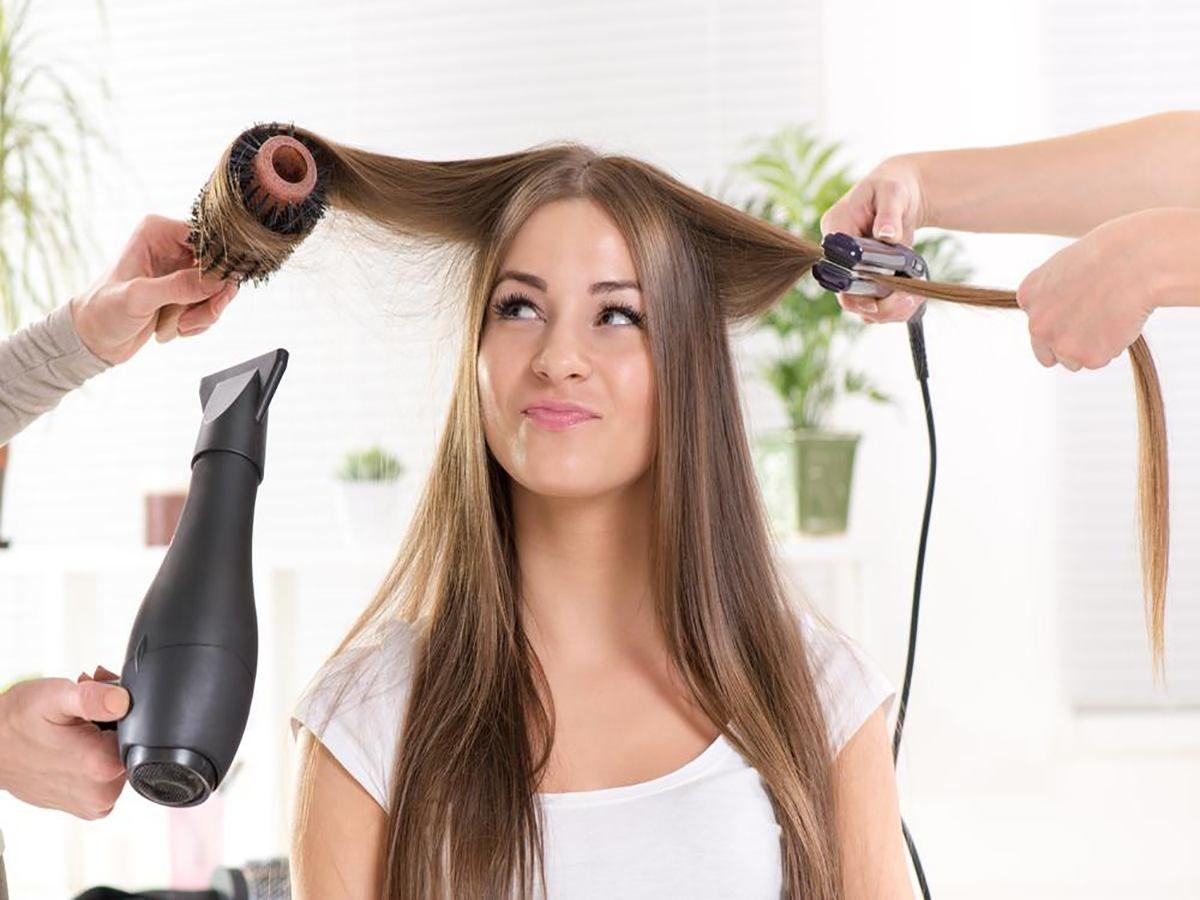 protector térmico para cabello casero