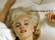 ¿Qué te pones para dormir? La leyenda de Marilyn Monroe y Chanel N°5