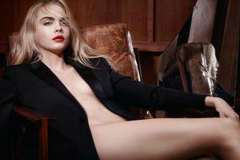 Cara Delevingne protagoniza sensual campaña para YSL