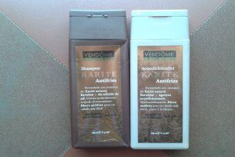 Review: Shampoo y Acondicionador Karité Antifrizz, de Vendóme
