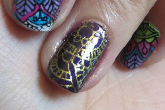 Tutorial Paso a Paso: Nail Art, Stamping