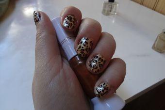 Tutorial Paso a Paso: Nail Art de Leopardo