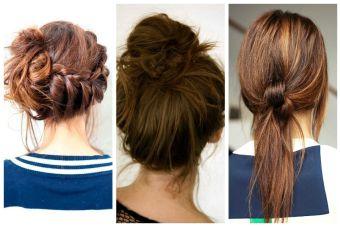 5 formas de recogerse el cabello con estilo