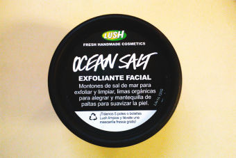 Review: Exfoliante Ocean Salt, de Lush