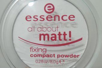 Review: polvos traslúcidos All about Matt, de Essence