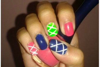 Tutorial Paso a Paso: Nail Art con Striping Tape (Cintas metalizadas)