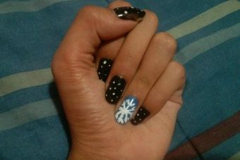 Tutorial Paso a Paso: Nail Art invernal