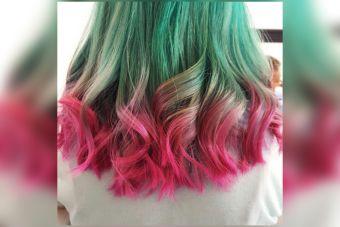 Tendencia : watermelon hair