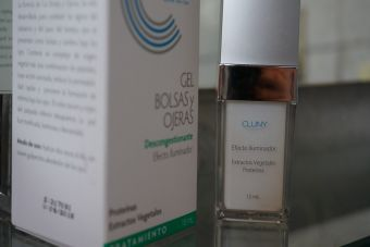 Review: Gel bolsas y ojeras Cluny