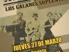 Tito Escárate y Los Galanes Suplentes en Sala SCD Bellavista