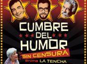 Cumbre del Humor SIN CENSURA: Jorge Alís, Edo Caroe y el Profesor Rossa