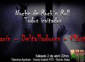 Noche de Rock and Roll en Taberna Ayekan