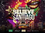 Fiesta Año Nuevo Believe Santiago 2016