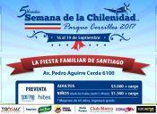Semana de la Chilenidad Parque Cerrillos 2017