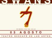 Swans en Chile - Teatro Nescafé de las Artes