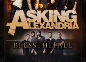 Asking Alexandria y Blessthefall en el Teatro Cariola