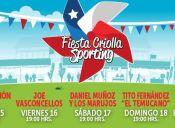 Fiesta Criolla 2016 en Valparaíso Sporting - 15 al 19 de Septiembre