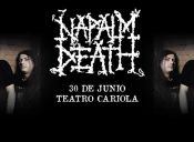 Napalm Death en Chile