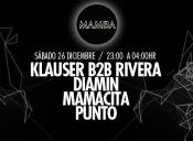 Diamin, Klauser B2B Rivera, Mamacita y Punto en Mamba