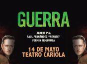 Guerra en Teatro Cariola
