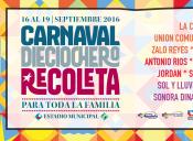 Carnaval Dieciochero Recoleta 2016 - 16 al 19 de Septiembre