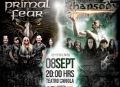 Rhapsody, Prismal Fear y Cuervo en Teatro Cariola