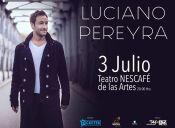 Luciano Pereyra en Teatro Nescafé de las Artes