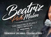 Beatriz Pichi Malen realiza concierto íntimo en sala La Comedia del Teatro Ictus