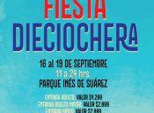 Fonda Parque Inés de Suárez 2016 - 16 al 19 de Septiembre