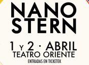 Nano Stern en Teatro Oriente