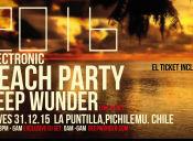 Fiesta Año Nuevo Techno Beach Party 2016