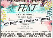 Summer fest San Alfonso - cajon del maipo