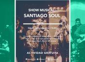 Espectáculo musical: Santiago Soul