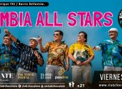 "FIESTA WOMAD OFF -  ""CUMBIA ALL STARS"" EN CLUB CHOCOLATE"