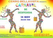 Cerro Bellavista presenta: Carnaval de Despedida