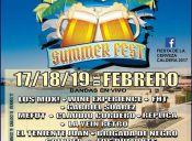SUMMER FEST CALDERA 2017 - 17, 18 y 19 de Febrero